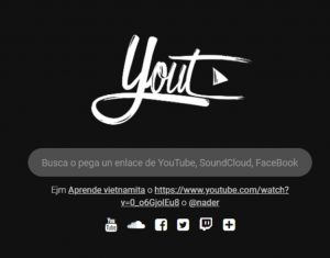 Web para descargar vídeos de youtube gratis